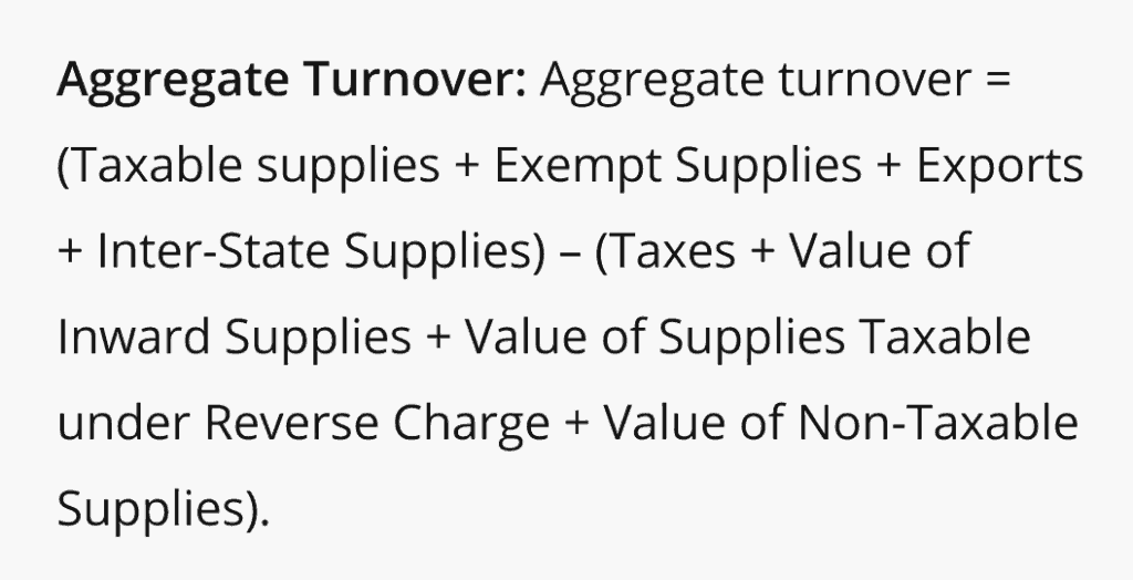 Formula to calculate collective turnover