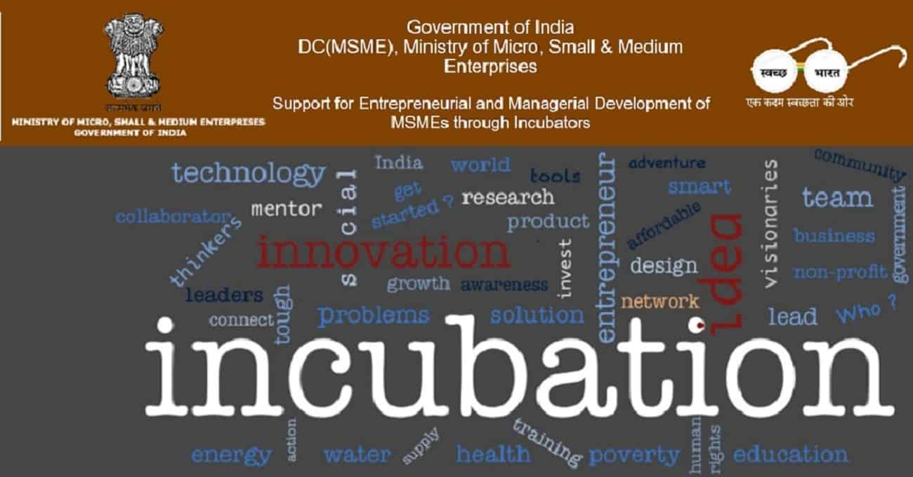 """Image result for Support for Entrepreneurial and Managerial Development of MSMEs through Incubators"""""""