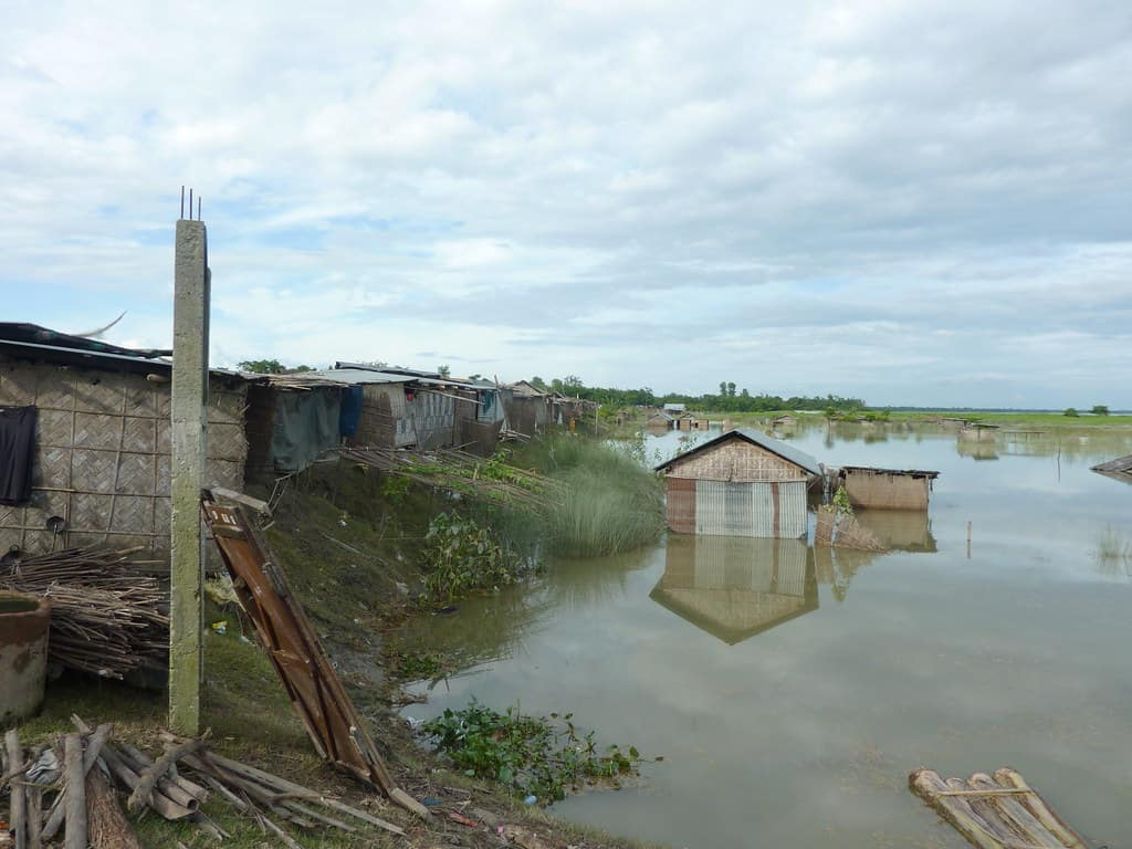 Floods in Assam Destroy Lives as well as Livelihood of the Local People