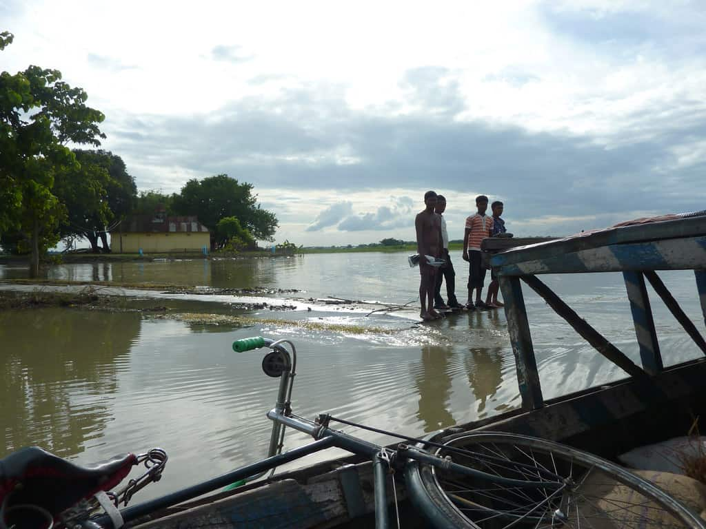 Assam and Bihar Floods Create Havoc and Destroy Agricultural Lands